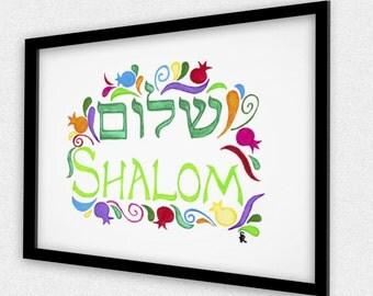 Shalom Wall Art