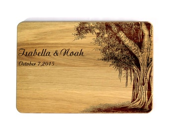 Personalized Cutting Board Wedding gift Cutting board Family tree Family Oak Love Tree Custom wedding gift Gift for couple Gift for family