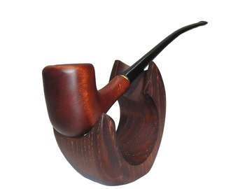 CHURCHWARDEN Womens Long Wooden Smoking Pipes Tobacco Pipe Handcrafted Wood Smoking Pipe Exclusive Smoking Pipe Collectible Smoking Bowl