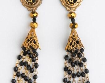 Golden Grail Earrings