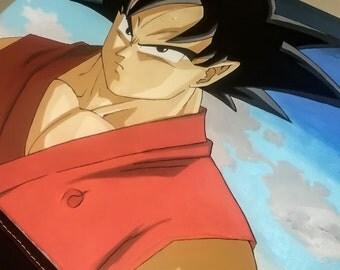 Goku acrylic