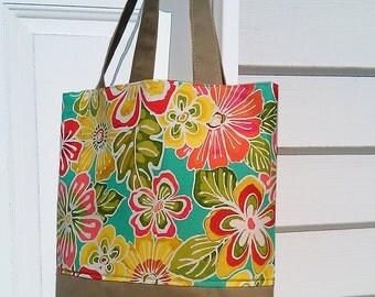 Cotton bag, Diaper bag, Messenger bag, beach bag, travel bag, unique gifts, Birds bag, Birds
