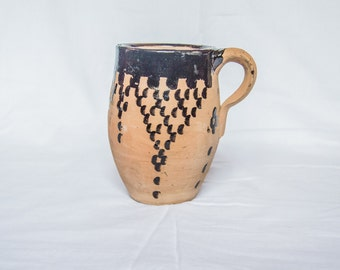 bicchierein decorative terracotta Berber-Morocco 8 x 12 cm size completely handmade