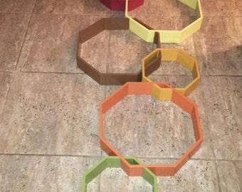 Large Octagon Shadowbox