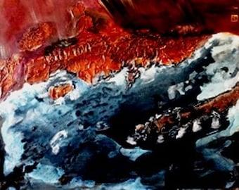 Holy Land * 1 / acrylic paint
