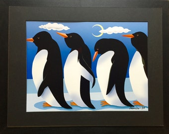 Penguins in the Night