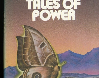 Tales of Power - Carlos Castaneda - hardback, 1974, 1st edition, 4th in series