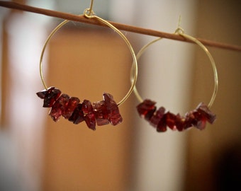 "Shop ""garnet"" in Earrings"