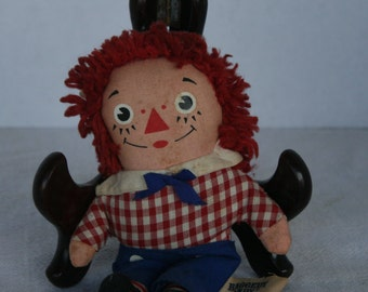 """6"""" Vintage Raggedy Andy doll"""