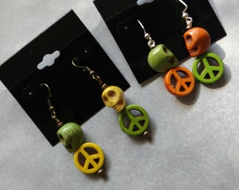 Dia de Los Muertos/ Day of the Dead Earrings