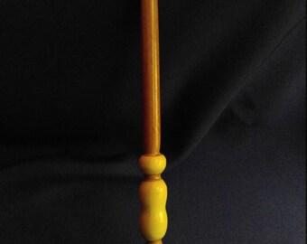 Cherry and poplar wand // handmade // harry potter style wand // fun gift