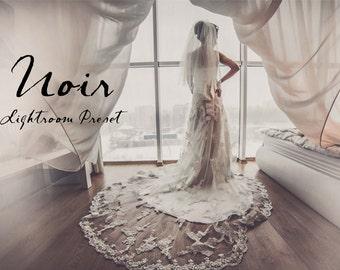 Noir Film Lightroom Preset Professional Photo Editing for Portraits, Newborns, Weddings By LouMarksPhoto