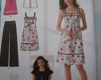 Simplicity 2373 Sundress, Jacket, Trousers and Top Sewing Pattern 16-24