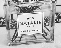 Customized Perfume Bottle Label