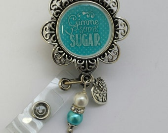 Give me some Sugar Retractable badge holder
