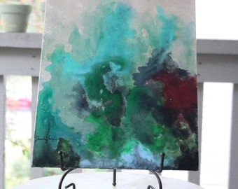 """Original Abstract Painting Entitled """"Cajun Waters"""""""