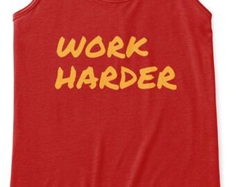 Work Harder- Tank Women's