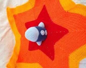 Rocket Blanket for Baby's