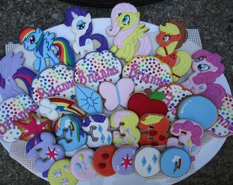 My Little Pony Cookie Platter