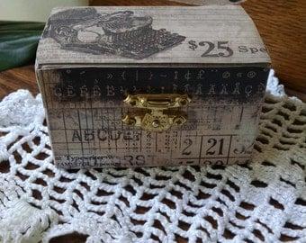 Type Writer Box