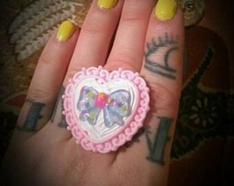 Lolita Bow Ring