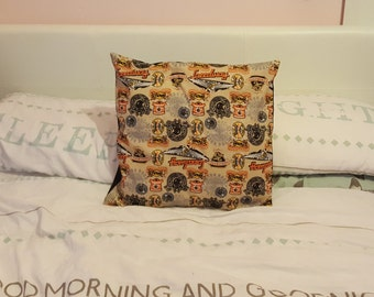 Speedway Cushion Cover, envelope style - motorbike, motorcycle