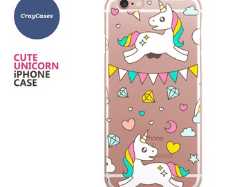 Unicorn iPhone 6 Case, Unicorn iPhone 6s Case Unicorn iPhone 7 Case Unicorn iPhone 6 Plus Case (Shipped From UK)