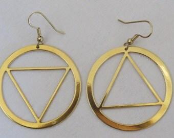 Aawa asymmetrical earrings