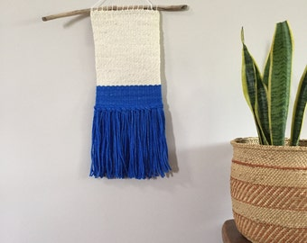 Color Block Woven Wall Hanging
