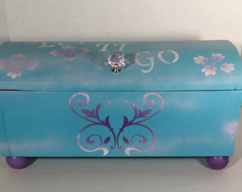Handcrafted storage chest