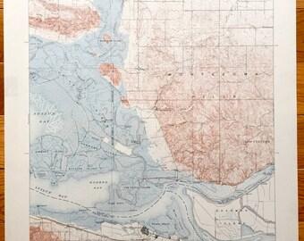 Vintage Antioch Map Etsy - Us Map 1908