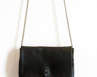 Bag in genuine leather
