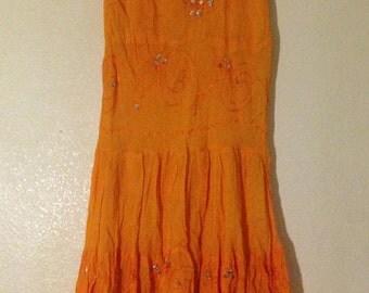 oreng maxi cotton skirts