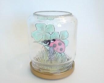 """Fairy in a jar """"Ladybug"""""""