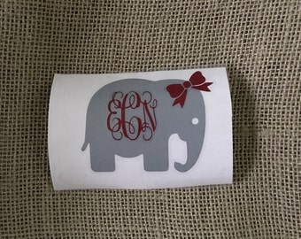 Adorable elephant decal