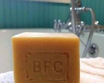 Goat's Milk & Blood Orange - Handcrafted Natural Artisanal Soap (Goats Milk Soap, Cold Process Soap, Natural Soap, Handcrafted Soap)