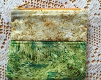 Van Gogh inspired coin purse