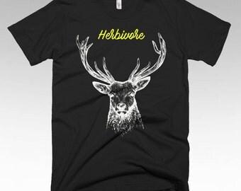 Herbivore, Vegan shirt, Vegan Clothing, Vegan Gifts, Vegan t shirts