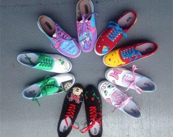 Custom Character Shoes