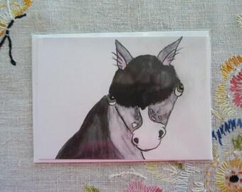 Horsey Greeting Card