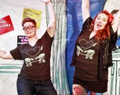Star Wars Shirt: AT-AT Love Unisex VNeck Shirt, Star Wars Valentine, Funny Star Wars Parody Tshirt, Funny Star Wars Shirt, Star Wars Gift