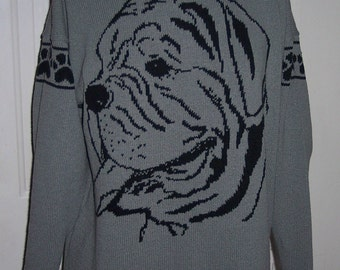 Custom Knit English Bulldog Sweater ****Create your own sweater see below*****