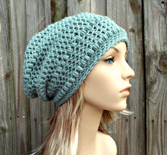 crochet hat womens hat penelope puff stitch slouchy beanie