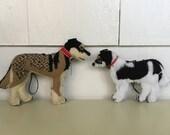 RESERVED Custom Dog Ornaments for Meg
