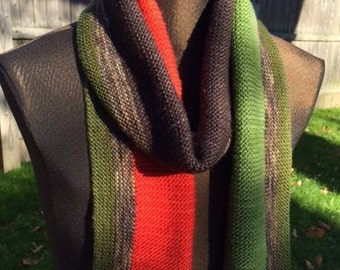 Color Block Scarf: Fall Landscape