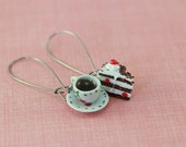Coffee and Cake Earrings