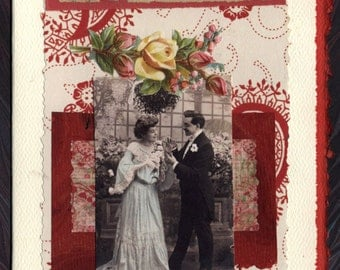 Marry Me Now Collage Card Engagement Wedding Anniversary