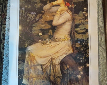 "John William Waterhouse Ophelia Art Print 24x36"" Heavy Stock Paper"