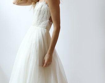 Sample Sale - brand new Lace and silk Wedding Dress