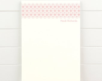 MOROCCO Personalized Notepad - Simple Teacher Custom Letterhead